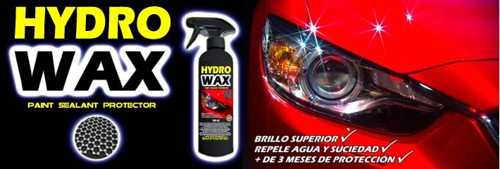 Hydrowax sellante pintura coche