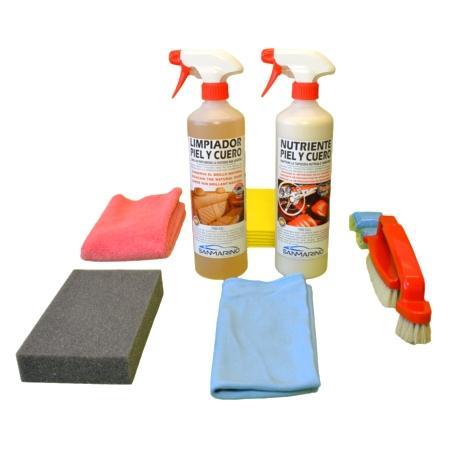 Limpiador de asientos de piel profesional Sanmarino